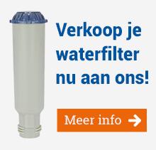 Verkoop je waterfilter nu aan ons!
