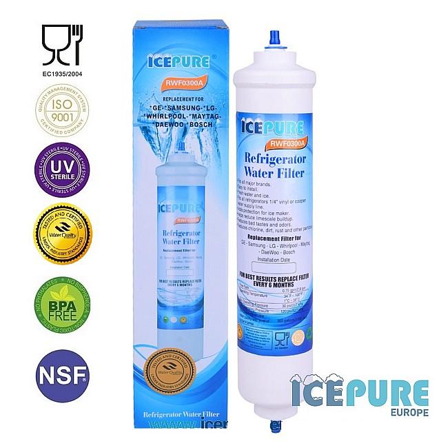 Hotpoint Waterfilter DD-7098 van Icepure RWF0300A