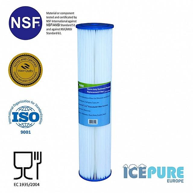 20inch Big Blue Pre-Filter 50 Micron van Icepure ICP-PPL20BB-50