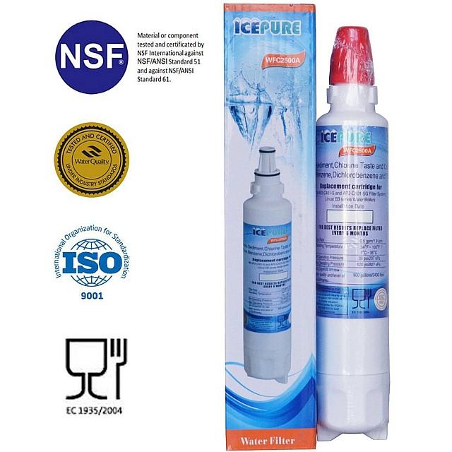 Eden SBR 20C Filter Systems EFS 20HC Waterfilter van Icepure WFC2500A