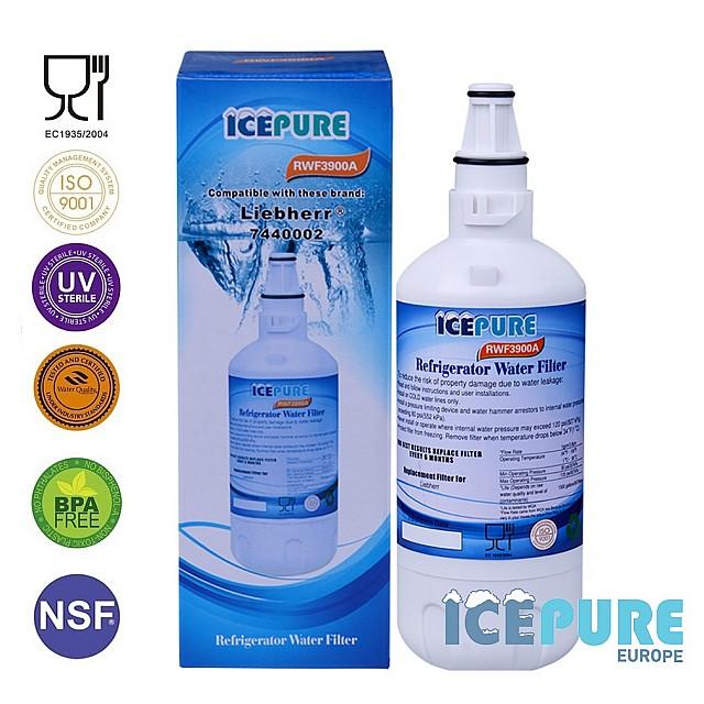 Liebherr 7440000 Waterfilter 7440002 van Icepure RWF3900A