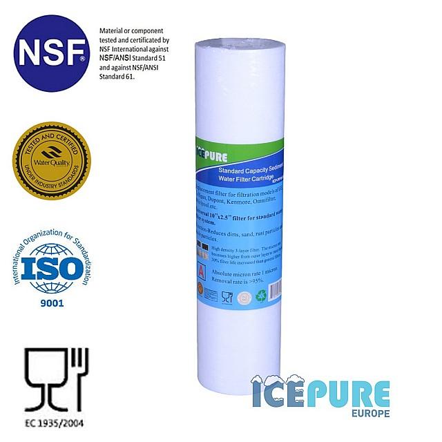 Sedimentfilter 5 Micron van Icepure ICP-PP10-05