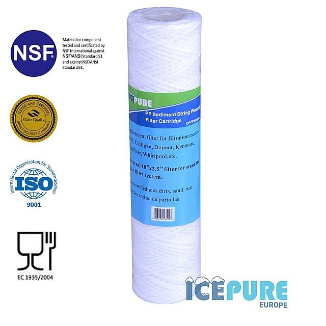 Bezinkselfilter 50 Micron van Icepure ICP-PPW10-50