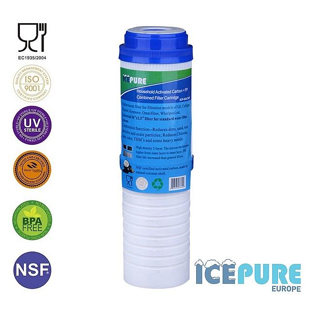 2 Fase Waterfilter van Icepure ICP-GAC10P