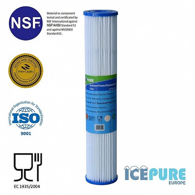 20 inch Pre-Filter Sediment 5 Micron van Icepure ICP-PPL20-05