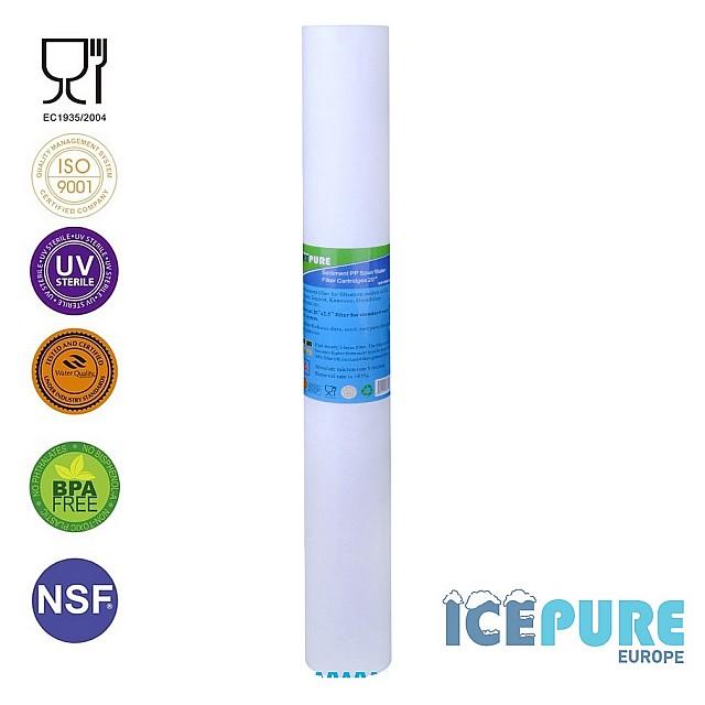 20 inch Sedimentfilter 1 Micron van Icepure ICP-PP20-01