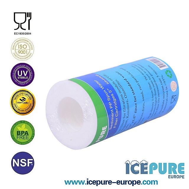 5 inch Sedimentfilter 5 Micron van Icepure ICP-PP5-05